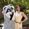 Pocahontas and Meeko ipad wallpaper