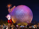 epcot spaceship earth desktop wallpaper
